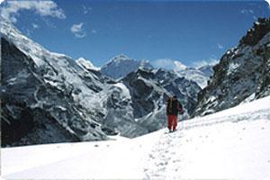 Renjo La pass Trek Gokyo Ri